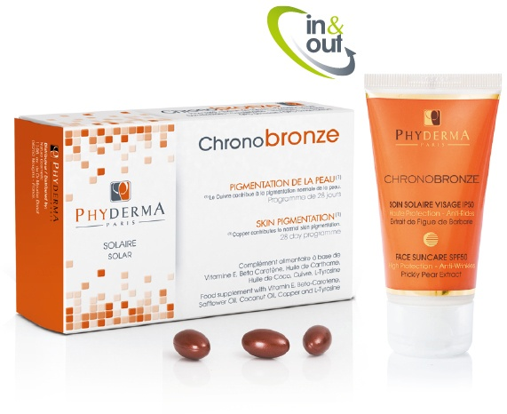 Le pack Chronobronze Phyderma