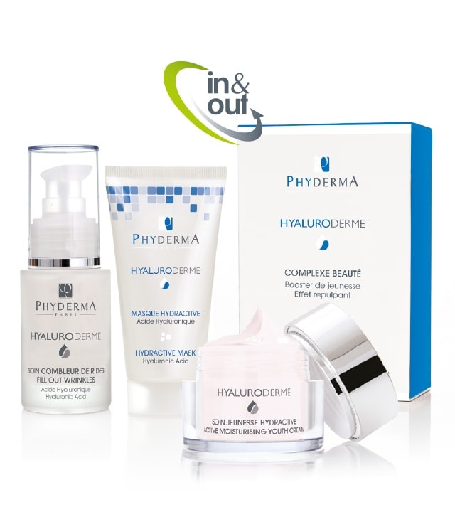PACK IN&OUT HYDRATATION ANTI-AGE HYALURODERME INTENSE