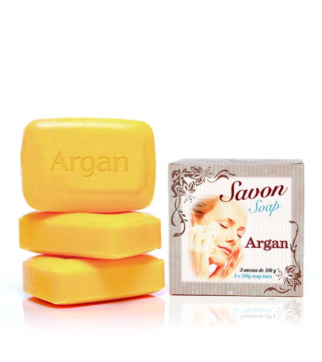 Savons huile d'Argan