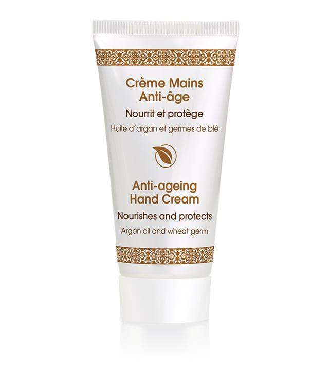 Crème mains anti-âge huile d'argan