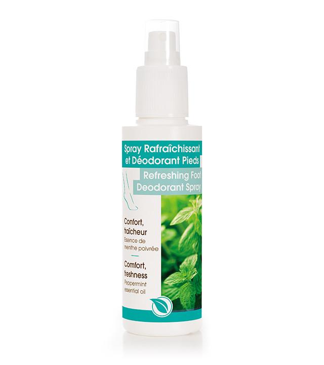 Spray Rafraîchissant et Déodorant Pieds