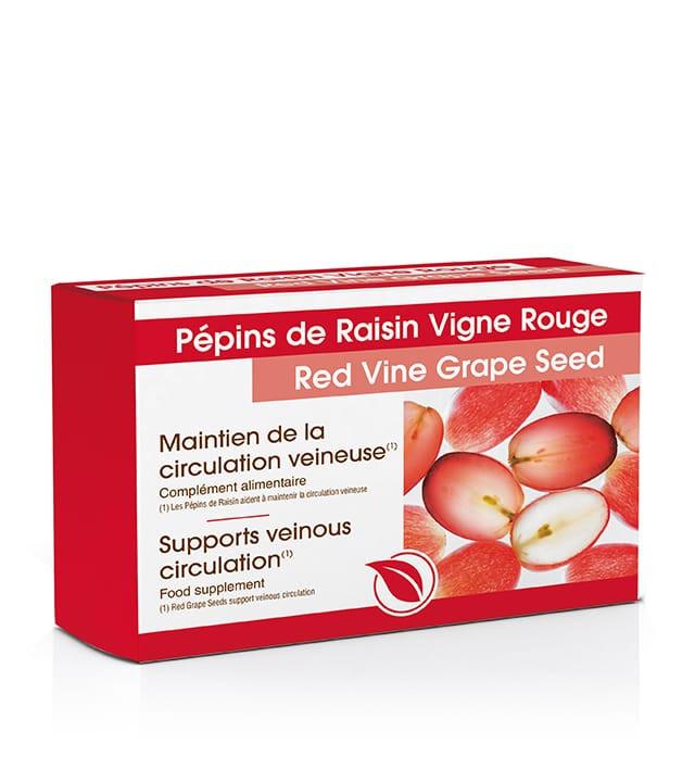 Pépins de raisin vigne rouge