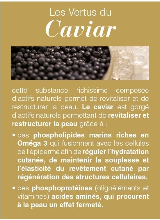 Les vertsu du caviar