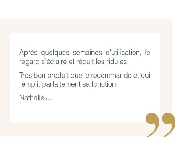 Témoignage Nathalie