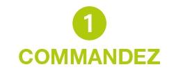 1 Commandez