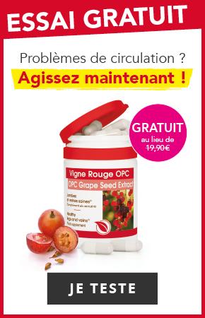 Offre Cure Gratuite Vigne Rouge OPC