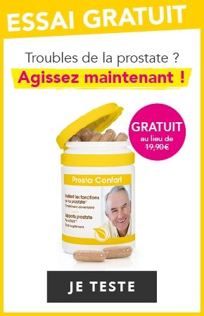 Offre Cure Gratuite Prostate