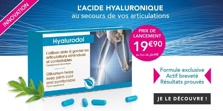 Nouveauté : Hyalurodol