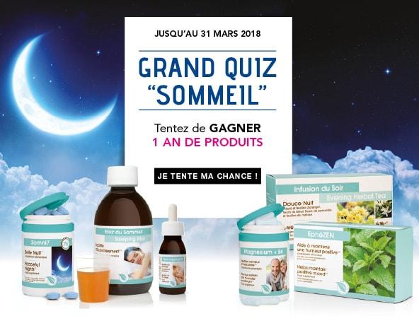 Jeu - Quiz Sommeil