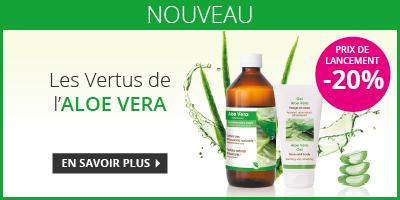 Nouveauté Aloe Vera