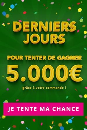 Jeu 5 000€ - Derniers jours !