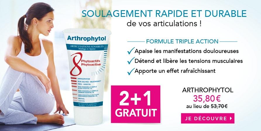 Arthrophytol gel de massage articulations