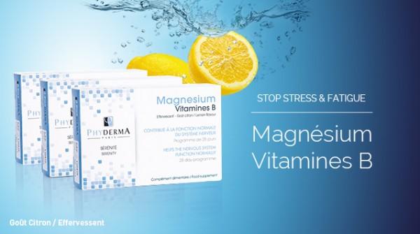 Magnesium-vitamines-B